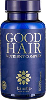 Good Hair Growth Vitamins with DHT Blocker, Biotin for a Longer, Stronger, Healthier Hair with Folic Acid, Vitamins, A, C, E - Men/Women - Hair Skin Nails, 60 Tabs