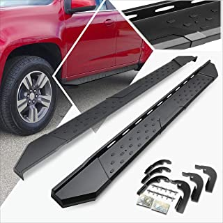 5.5 Inches Side Step Nerf Bar Running Board Compatible with Colorado/Canyon Crew Cab 15-19