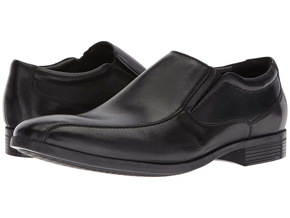 Clarks Conwell Step (Black Leather) Men