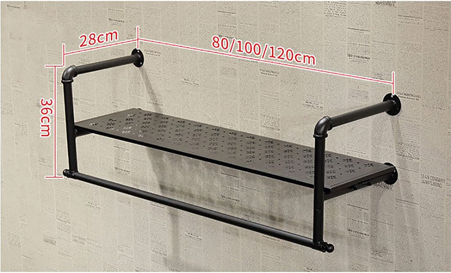 Clothing Display Stand Clothing Store Retro Women's Clothing Store Renovation Shelves