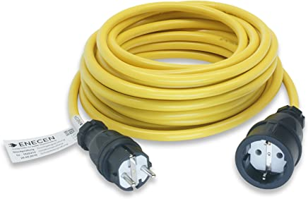 5m Verlängerungskabel N07V3V3-F 3x2,5 mm Gelb Stromkabel Verlängerung Kabel YL