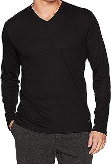 Calvin Klein Long Sleeve Double Collar V-Neck Shirt