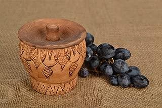 Storage Container Pot Ceramic Salt or Sugar Container Kitchen Utensils