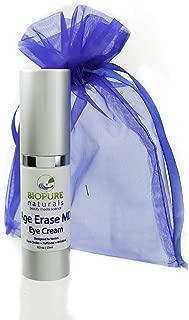 Age Erase MD Anti Aging Eye Wrinkle Cream Eye Gel by BioPure Naturals