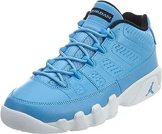 Boys Air Jordan 9 Retro Low BG Pantone University Blue/White Leather Size 5Y