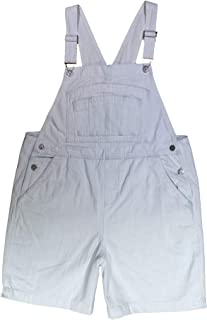 BoundOveralls Women's Plus Size Overall Shorts in Multiple Washes Size 16-26