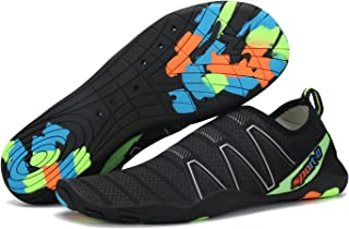 Cool nik Men's and Women's Water Shoes Quick-Drying Aqua Slip-on Athletic Sports Lightweight Sneaker
