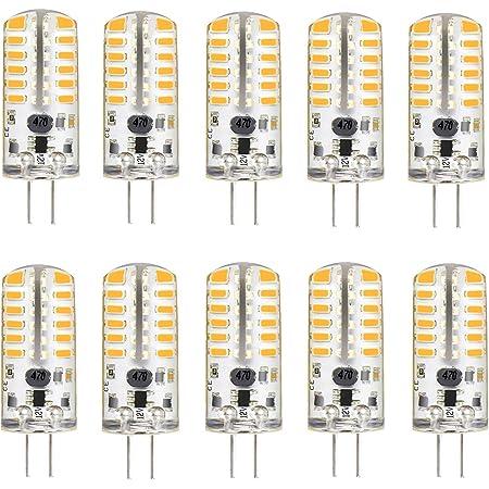 G4 Base LED Ampoule COB LED Light AC 220V 3W Crystal Silicone Warm WHT 3000K