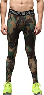 Blackdeer Men's Performance Tight Trousers Green Camouflage 2X-Large?