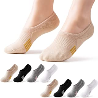 8-10 Pairs No Show Athletic Socks Hiking Running Low Cut Cushion Socks For Women No Slip Off Ankle Socks
