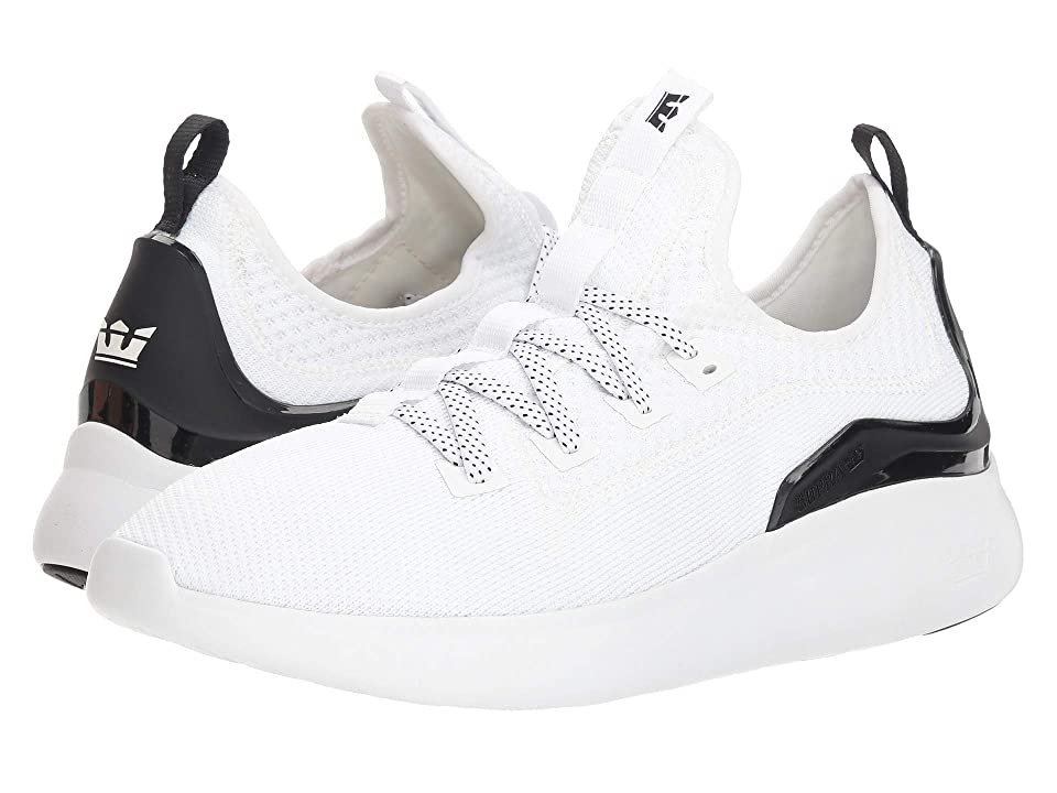 Supra Factor (White/Black/White) Men
