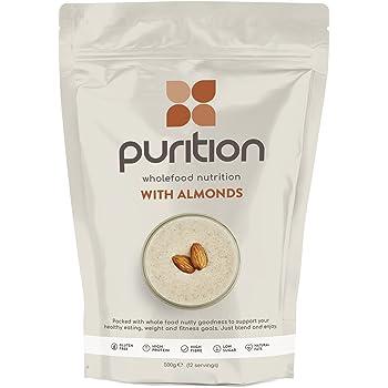 Purition Batido de proteínas de Almendras (500g). Batido para el ...