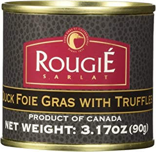Rougie Foie Gras with Truffles Fully Cooked, 3.17 oz