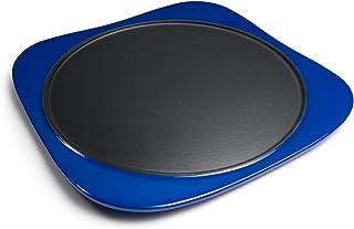 Panache Premium geëmailleerde gietijzeren bakplaat Pan (Blue Gradient). De makkelijk te gaan performance pan voor Dosa, To...