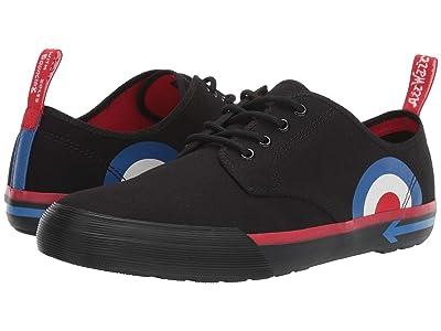Dr. Martens Pressler WHO (Black Target Canvas) Shoes