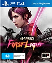inFamous First Light PS4 Playstation 4 Game (Physical Version)