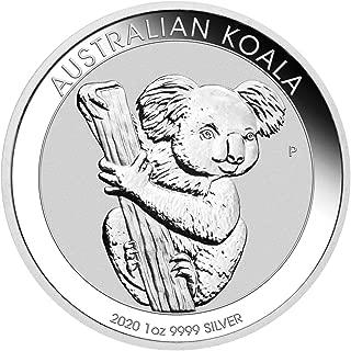 2020 AU Koala One Ounce Silver Coin $1 Brilliant Uncirculated Dollar Uncirculated Mint