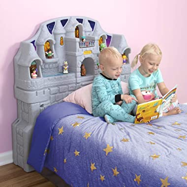 Simplay3 Imagination Castle Twin Headboard for Toddlers & Kids