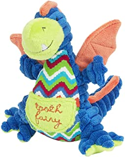 Maison Chic Plush Tooth Fairy Pillow for Little Boys and Girls About to Loose a Tooth (Dragon, Drake)