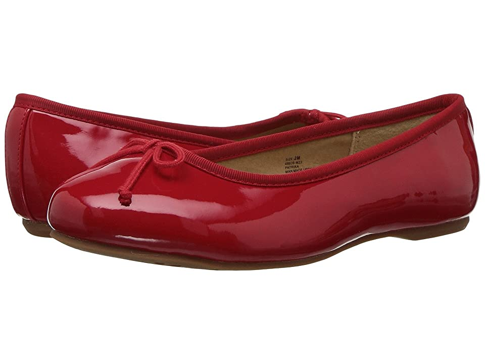 Hanna Andersson Patrika (Toddler/Little Kid/Big Kid) (Red) Girls Shoes