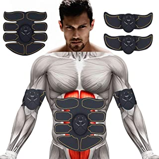 Abs Stimulator Ab Stimulator Muscle Toner Abs Trainer Muscle Trainer Ultimate Abs Stimulator for Men Women Abdominal Work Out Ads Power Fitness Abs Muscle Training Gear ABS Workout Equipment Portable