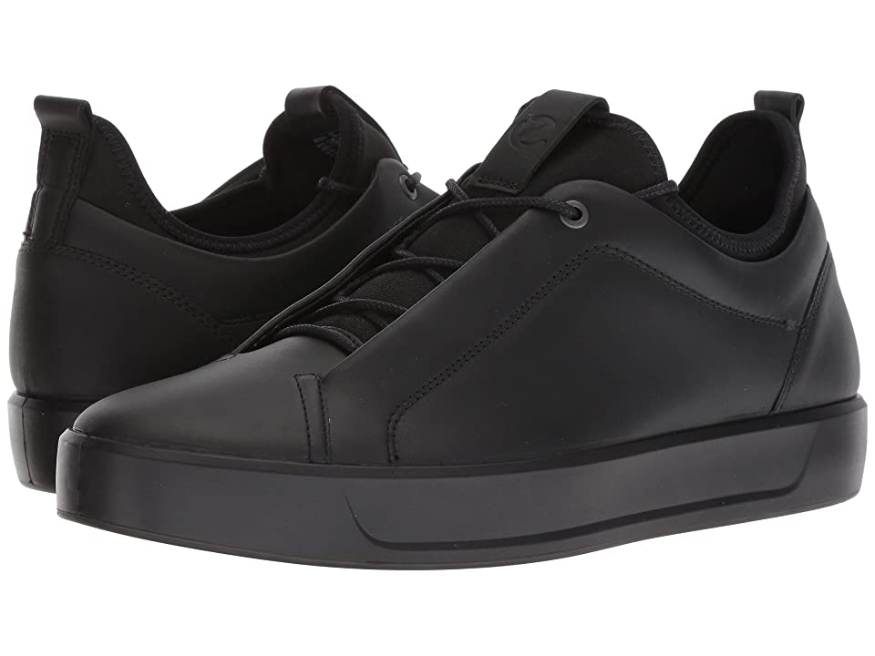 ECCO Soft 8 Low (Black) Men