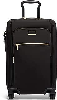 Larkin Sutter International Dual Access 4 Wheeled Carry-on - Black/Gold