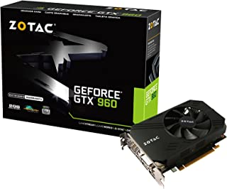 ZOTAC GeForce GTX 960 ITX Compact Aモデル (174mmショート 4画面出力) グラフィックスボード VD5728 ZTGTX96-2GD5ITX02A