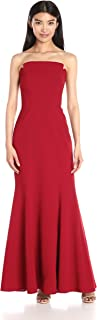 Jill Jill Stuart Women's Fitted Strapless Column Gown