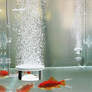 EsportsMJJ Aquarium Bubble Air Stone Pompe Hydroponique Diffuseur De Poissons Réservoir Étang Aerator Disk