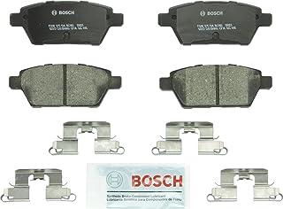 Bosch BC1161 QuietCast Premium Ceramic Disc Brake Pad Set For: Ford Fusion; Lincoln MKZ, Zephyr; Mazda 6; Mercury Milan, Rear