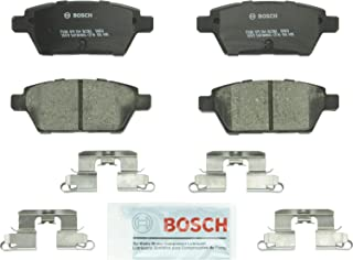 Bosch BC1161 QuietCast Premium Ceramic Disc Brake Pad Set For: Ford Fusion; Lincoln MKZ, Zephyr; Mazda 6; Mercury Milan, Rear