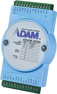 Output Module, Analog, ADAM-4024 Series, 4 Channel, Modbus