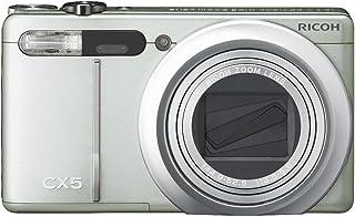 RICOH ハイブリッドAFシステム搭載 光学10.7倍ズーム CX5 グリーンシルバー CX5GS