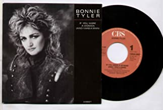 BONNIE TYLER - IF YOU WERE A WOMAN - 7 inch vinyl / 45 record
