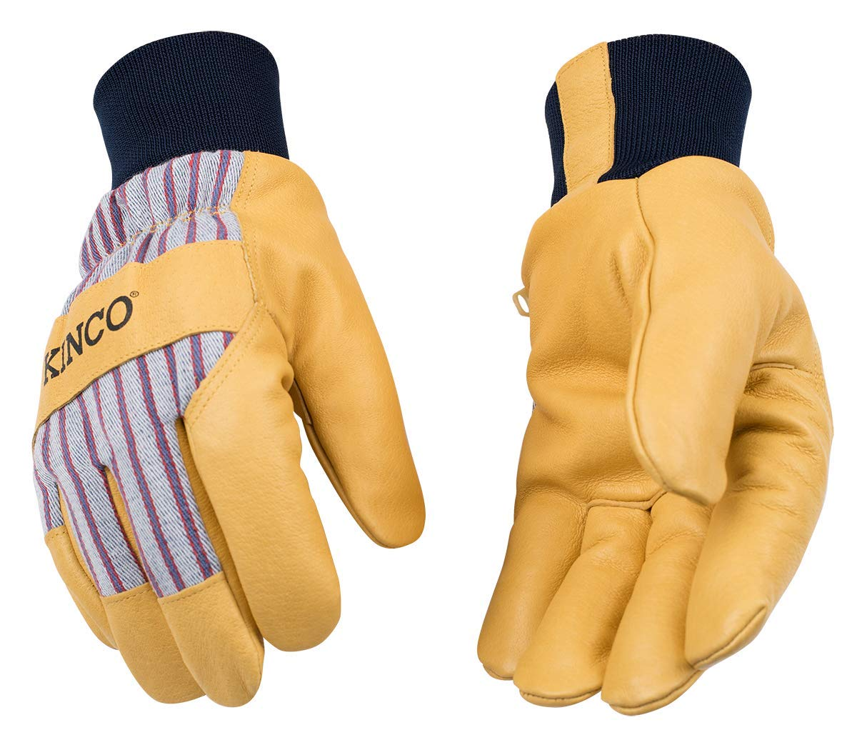 Kinco - Premium Leather Work Free shipping anywhere in the nation Gloves Heatkeep Ski and Sacramento Mall Insulation