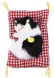 Zerodis Juguete del Gato de la Simulación Que Duerme con la