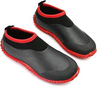 Rain Boots for Women Men, Waterproof Garden Shoes Beach Water Shoes Lightweight Walking Sneaker Car Wash Footwear Running Shoes