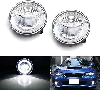 For Subaru Impreza 1992-2000 High Main Beam H4 Xenon Headlight Bulbs Pair Lamp