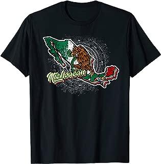 Michoacan, Mapa de Mexico T-Shirt