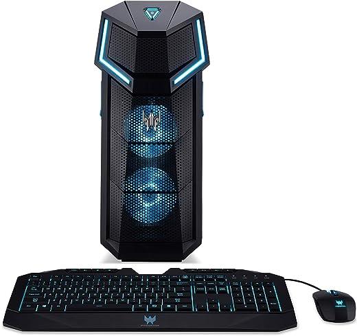 Acer Predator Orion 5000 PO5-610-UR11 Gaming Desktop,8th Gen Intel Core i5-8600K, GeForce GTX 1060, 16GB DDR4, 256GB PCIe NVMe SSD, Windows 10 Home