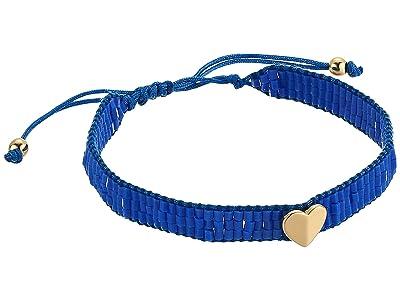 Kate Spade New York Heritage Spade Friendship Bracelet (Blue) Bracelet