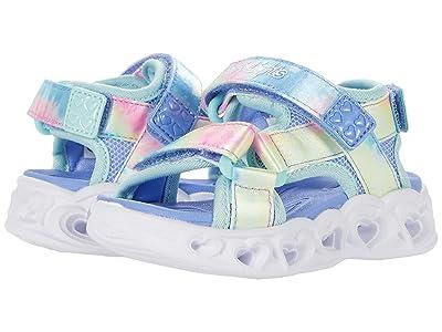 SKECHERS KIDS Heart Lights Sandals Color Groove 302160N (Toddler)