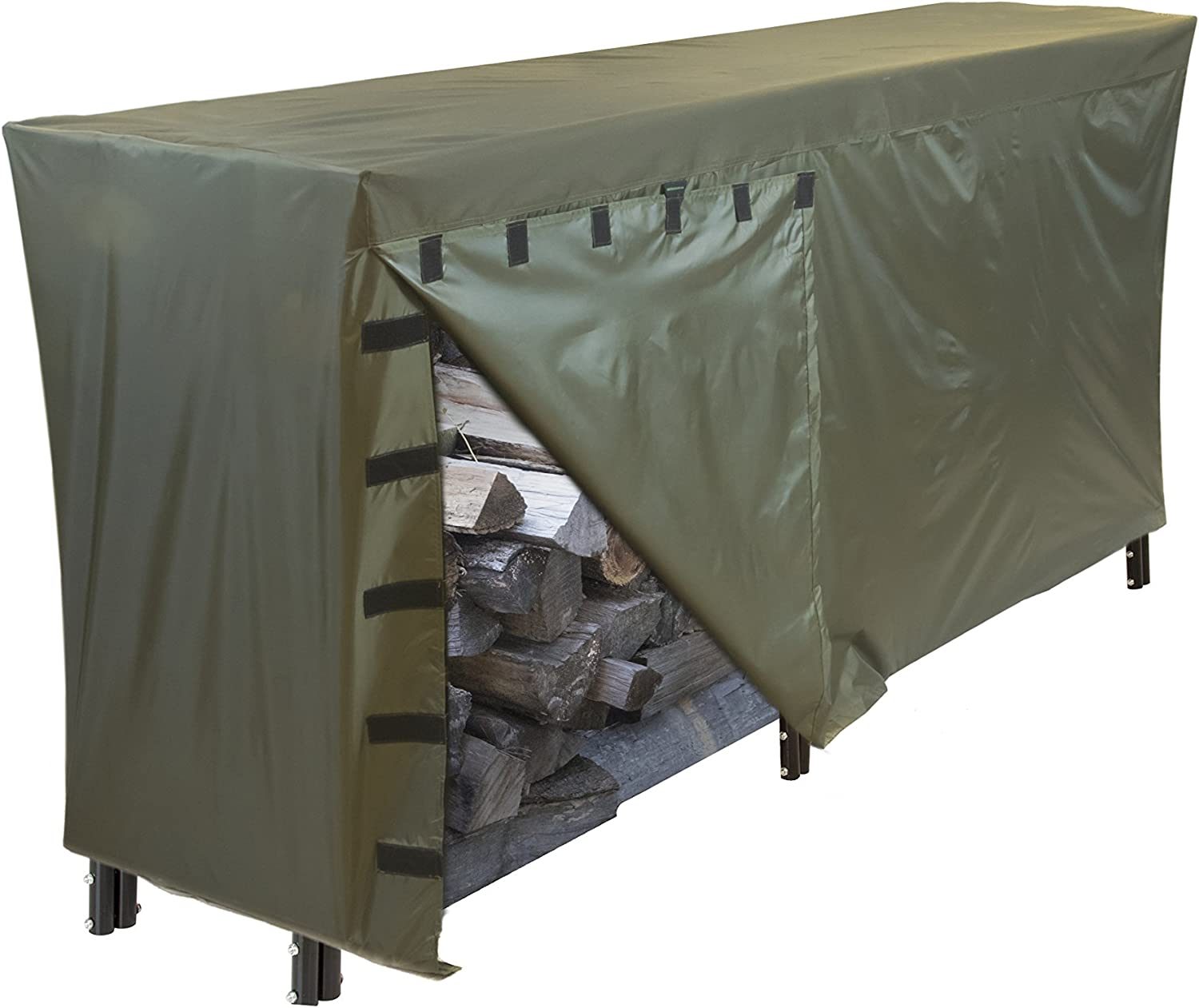 Hybrid Covers Log Rack Cover Free shipping 8 Heavy Year-end gift Duty Outd Feet All-Weather