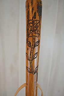 Up to 60 Strong Hardwood Walking Sticks Customize Height Walking Stick with Compass