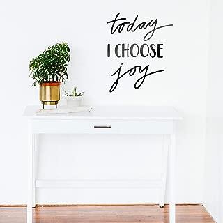 Vinyl Wall Art Decal - Today I Choose Joy - 24