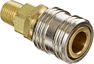 Eaton Hansen 1100 Brass 1000/400/500 Series, Industrial Interchange, Coupler Socket, 1/4