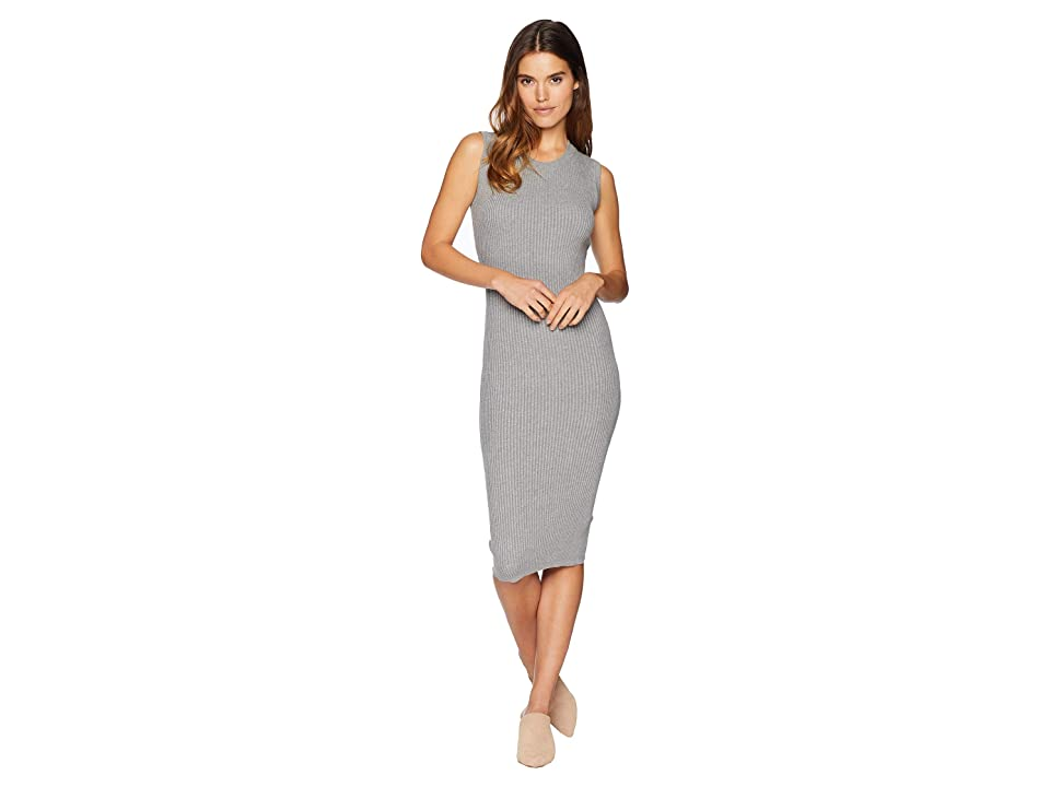 Young Fabulous & Broke Noho Dress (Heather Grey) Women