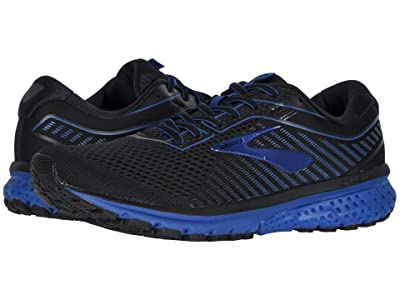 Brooks Ghost 12 (Black/True Blue/Black) Men