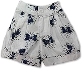 Allegra and Harvey Lucy Bloomer Shorts with Navy Blue Bows (Shorts only)